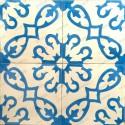 Cement tiles 1sqm model bess-bleu