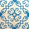 carreaux ciment 1m2  modele bess-bleu