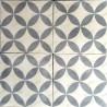 Cement tiles 1sqm model sampa-gris