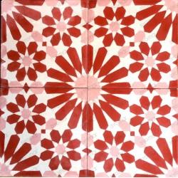mosaico hidraulico 1m modelo anso-rouge