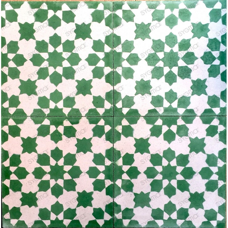 mosaico hidraulico 1m modelo prisma-vert