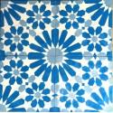 Cement tiles 1sqm model anso-bleu