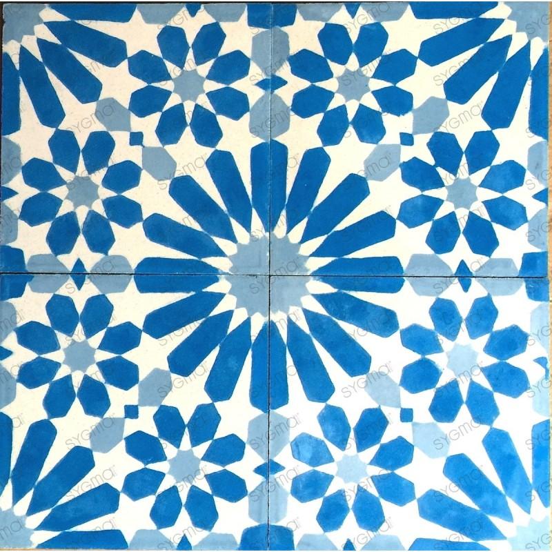 mosaico hidraulico 1m modelo anso-bleu