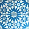 carrelage carreaux en ciment 1m2  modele anso-bleu