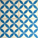 carreaux de ciment 1m2 modele sampa-bleu