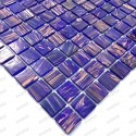Glassmosaic floor and wall Speculo Violet