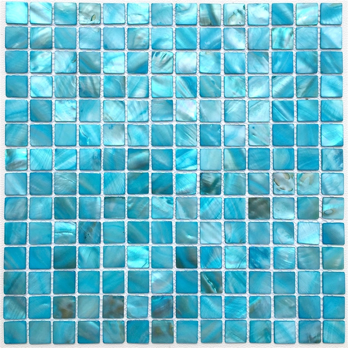 Carrelage Salle De Bain Bleu Turquoise mosaic of pearl tile shower bath pearl nacarat bleu