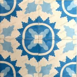 mosaico hidraulico 1m modelo ferret-bleu