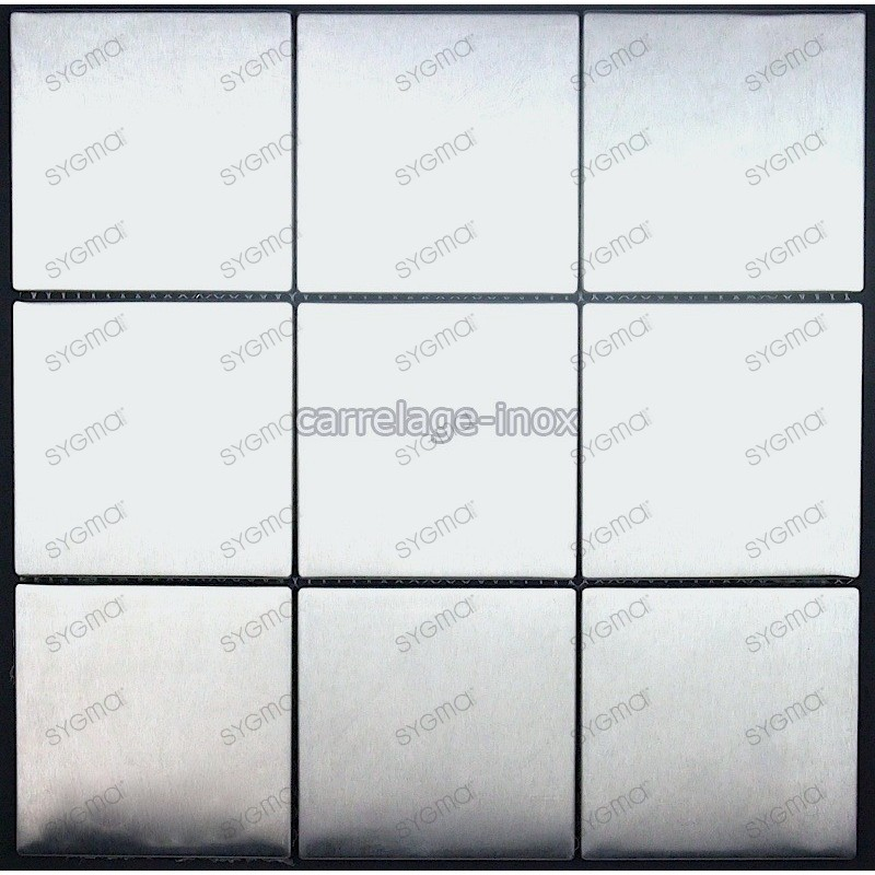 stainless steel tile kitchen splashback mosaic cm-regular98
