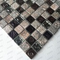 plate of stone mosaic wall and floor 1sqm model STACKA