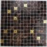 mosaique pate de verre mur et sol goldline-vog