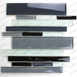 Glass mosaic tile wall for kitchen and bathroom mv-filio