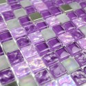 echantillon mosaique de verre pour douche tuno