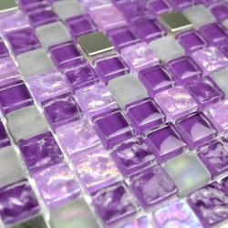 echantillon - verre - Harris violet