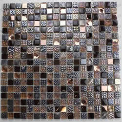 Mosaic glass for shower and bathroom mv-inesse