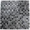 Pared de baño de mosaico y piso Osana