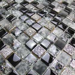 Mosaic bathroom wall and floor Osana
