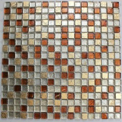 Mosaic tile bathroom wall and floor Otika