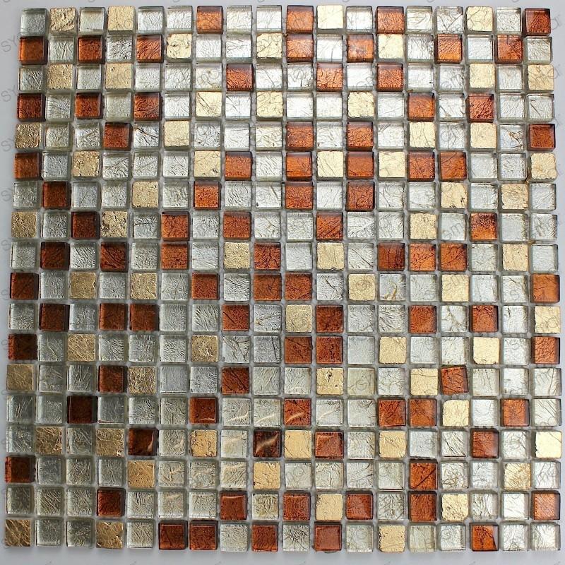 Mosaic tile bathroom wall and floor Otika