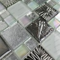 sample glass mosaic for floor and wall shower model svelta