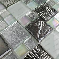 echantillon mosaique verre pour douche salle de bain modele svelta