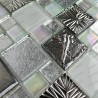 sample glass mosaic for floor and wall shower model Lugano