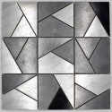 Tile mosaic stainless steel backsplash LOKA