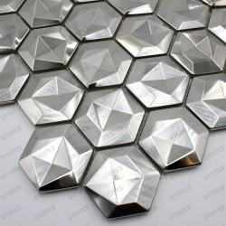 Stainless steel mosaic kitchen Kami