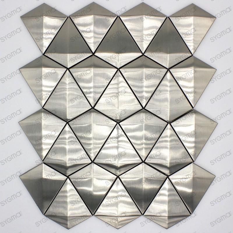 Aluminium and glass mosaic kitchen and bathroom HEHO
