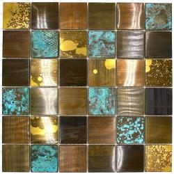 mosaico azulejo aluminio muro cocina ducha y baño Velvet