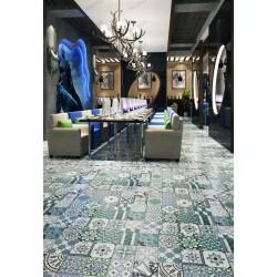 Carreaux ciment imitation patchwork modele Limana