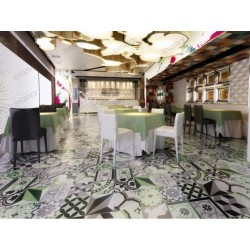 Cement tiles 1sqm model luzern vert