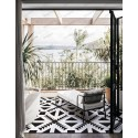 Cement tiles 1sqm model bess-vert