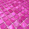 1m2 mosaique de nacre pour douche et salle de bain odyssee-rose