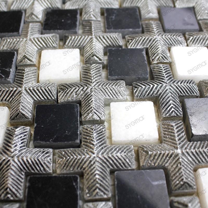 azulejo mosaico de marmol y piedra mp-loukas