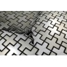 steel mosaic tile CROSS model