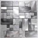 Aluminium mosaic wall backsplash kitchen and bathroom ASPEN