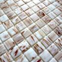 Mosaico pasta de vidrio, azulejo pasta de vidrio 1 placa modelo GOLDLINE TURQUOISE