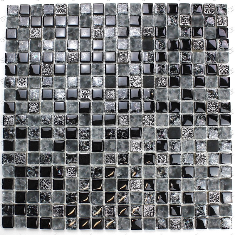 Pared de baño de mosaico y piso mvp-galb