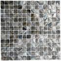 mosaique de nacre coquillage salledebain et douche 1m nacarat gris