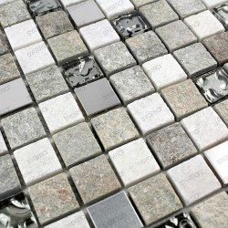 Mosaic bathroom wall and floor 1sqm Atena