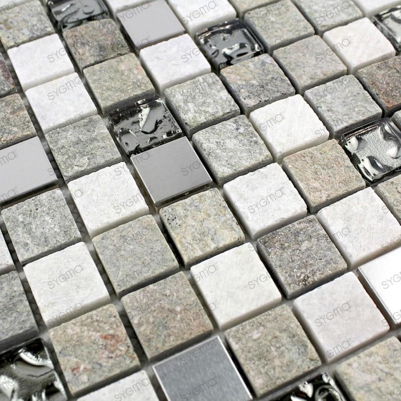 Mosaique de salle de bain et sol ou murs de douche swiri 1m2 - Mosaique sol salle de bain ...