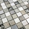 Pared de baño de mosaico y piso Atena 1m2
