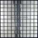 carrelage inox mosaique inox 1 plaque REGULAR 30