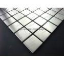 carrelage inox mosaique inox 1 plaque REGULAR 30