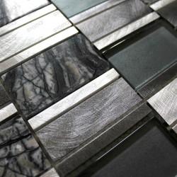 mosaïque de salle de bain et cuisine Ceti gris