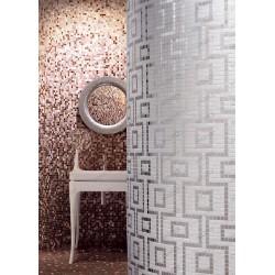 mosaïque pate de verre motif HERMES