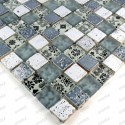 Mosaique salle de bain douche mur et sol MILLA