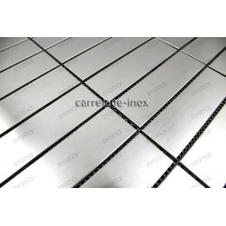 carrelage inox mosaique 1 plaque GOLDMIX20
