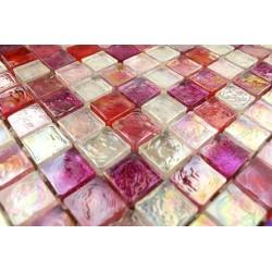 Mosaique verre mosaique douche salle de bain Zenith Rose 1m2